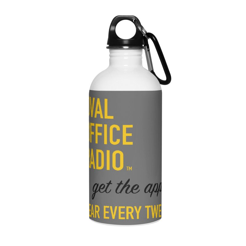 New design incorporating suggestions Accessories Water Bottle by Oval Office Radio