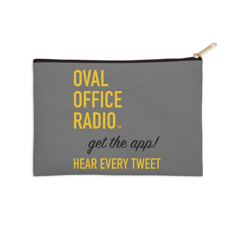 New design incorporating suggestions Accessories Zip Pouch by Oval Office Radio