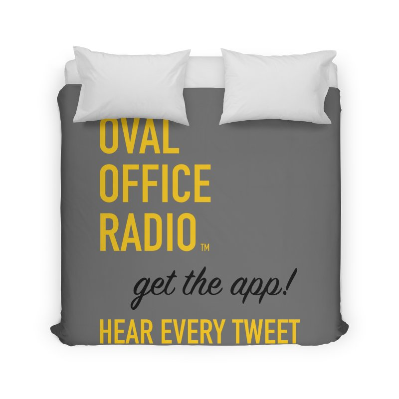 New design incorporating suggestions Home Duvet by Oval Office Radio