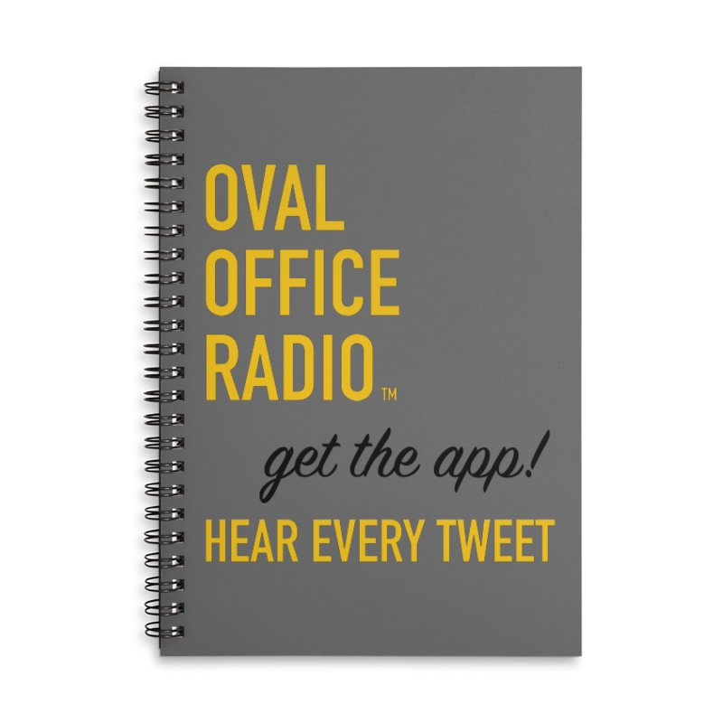 New design incorporating suggestions Accessories Notebook by Oval Office Radio