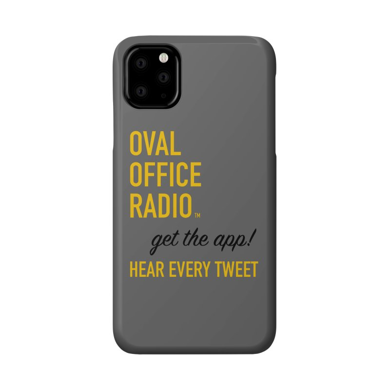 New design incorporating suggestions Accessories Phone Case by Oval Office Radio