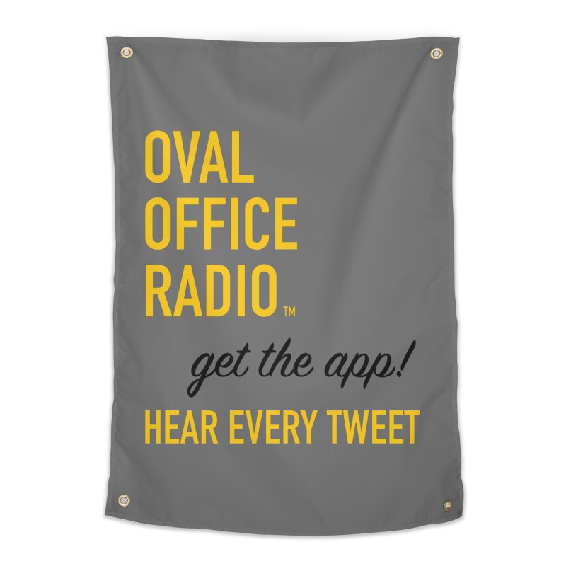 New design incorporating suggestions Home Tapestry by Oval Office Radio