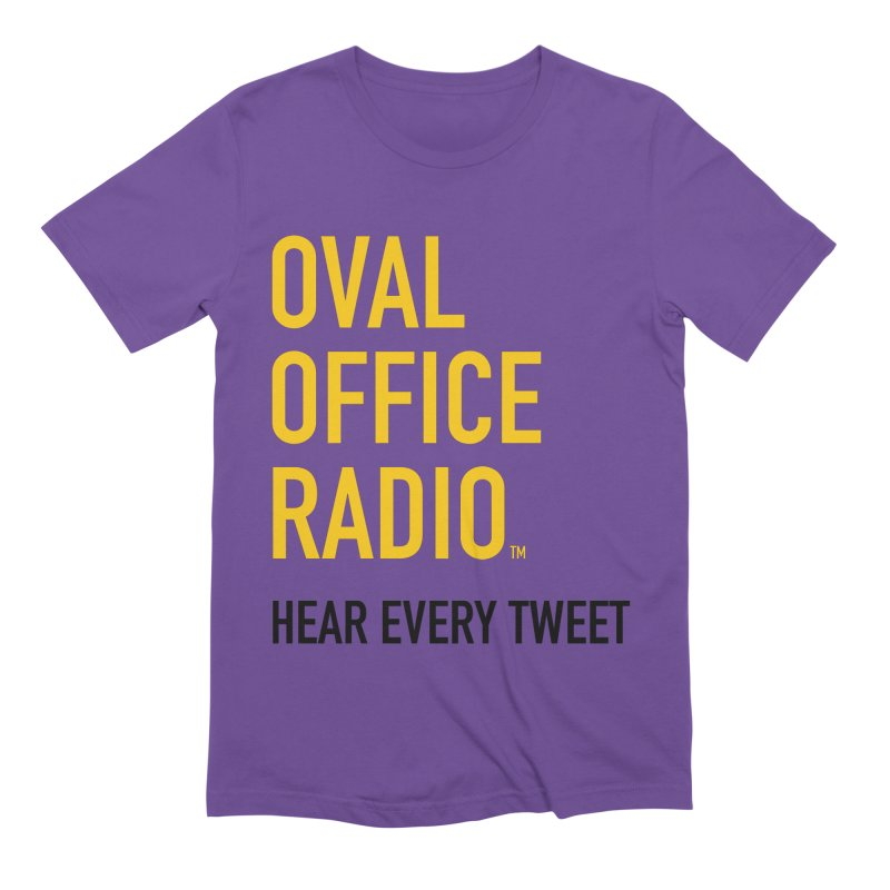 New design, minimalist Men's T-Shirt by Oval Office Radio