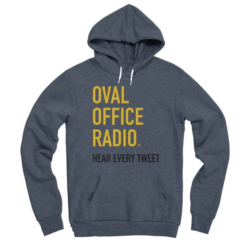 New design, minimalist Women's Pullover Hoody by Oval Office Radio