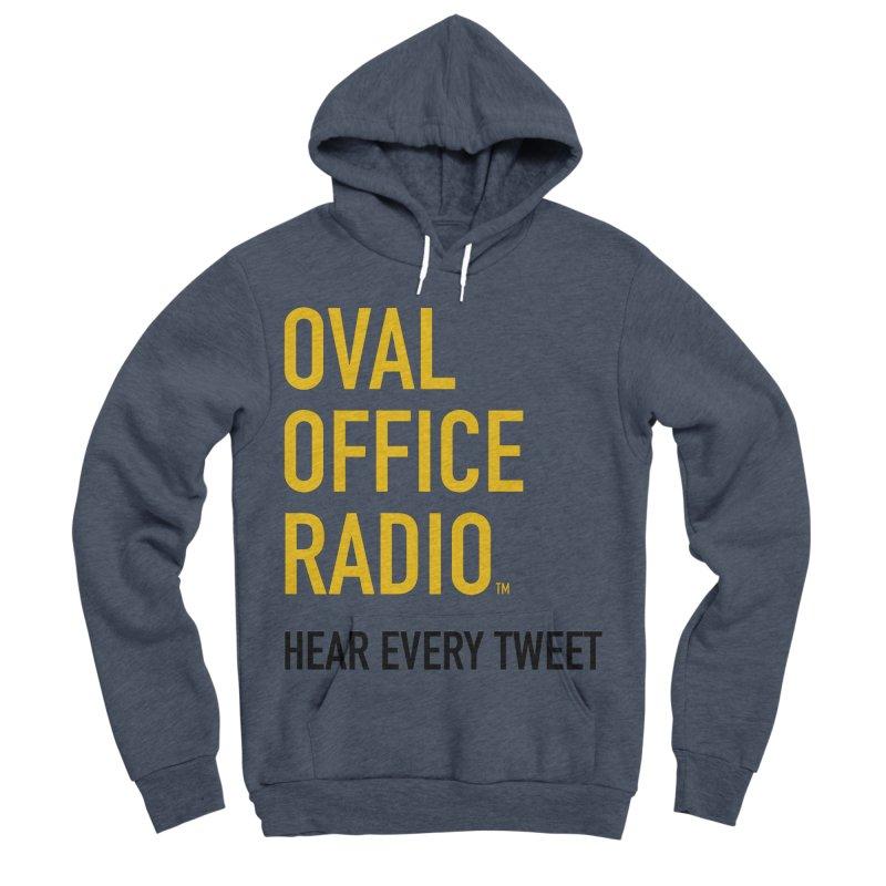 New design, minimalist Women's Sponge Fleece Pullover Hoody by Oval Office Radio