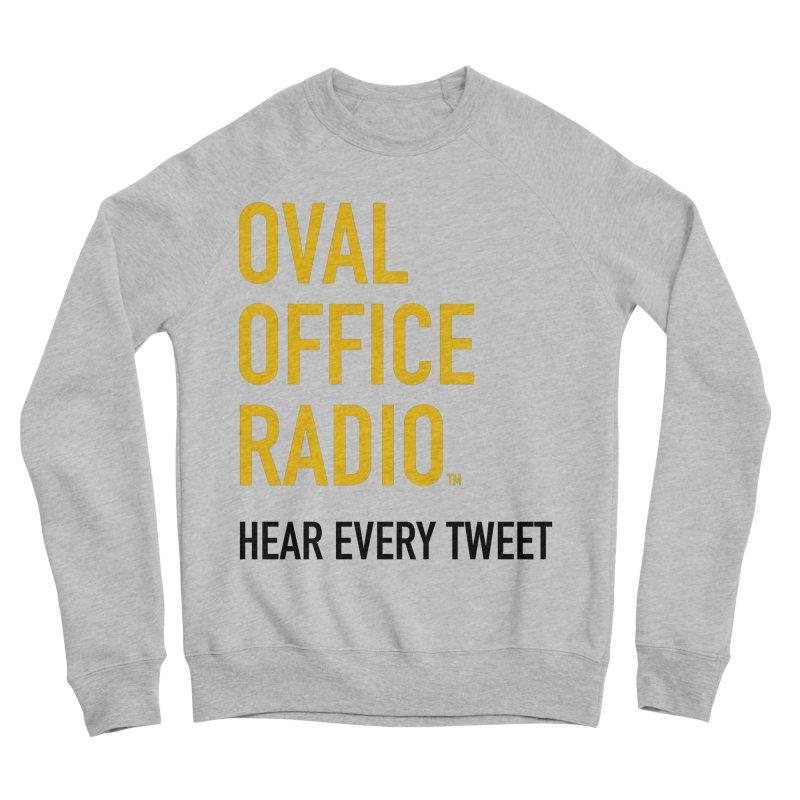 New design, minimalist Women's Sponge Fleece Sweatshirt by Oval Office Radio