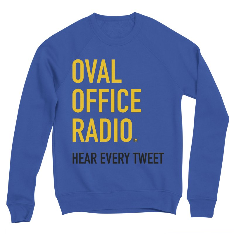 New design, minimalist Women's Sweatshirt by Oval Office Radio