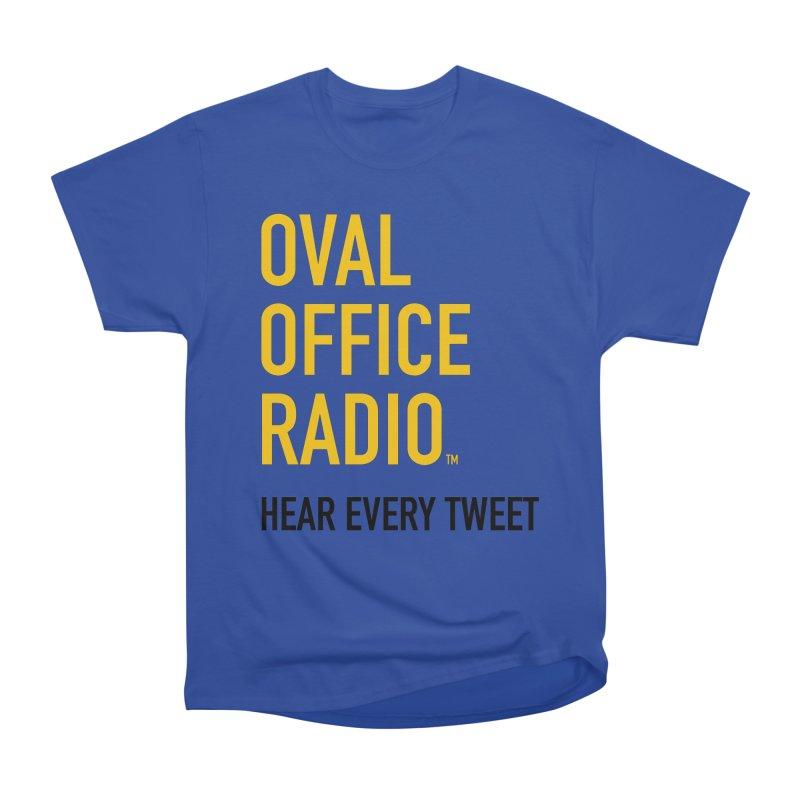 New design, minimalist Women's T-Shirt by Oval Office Radio