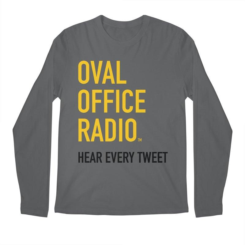 New design, minimalist Men's Longsleeve T-Shirt by Oval Office Radio