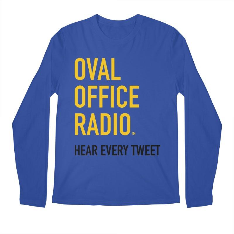 New design, minimalist Men's Regular Longsleeve T-Shirt by Oval Office Radio