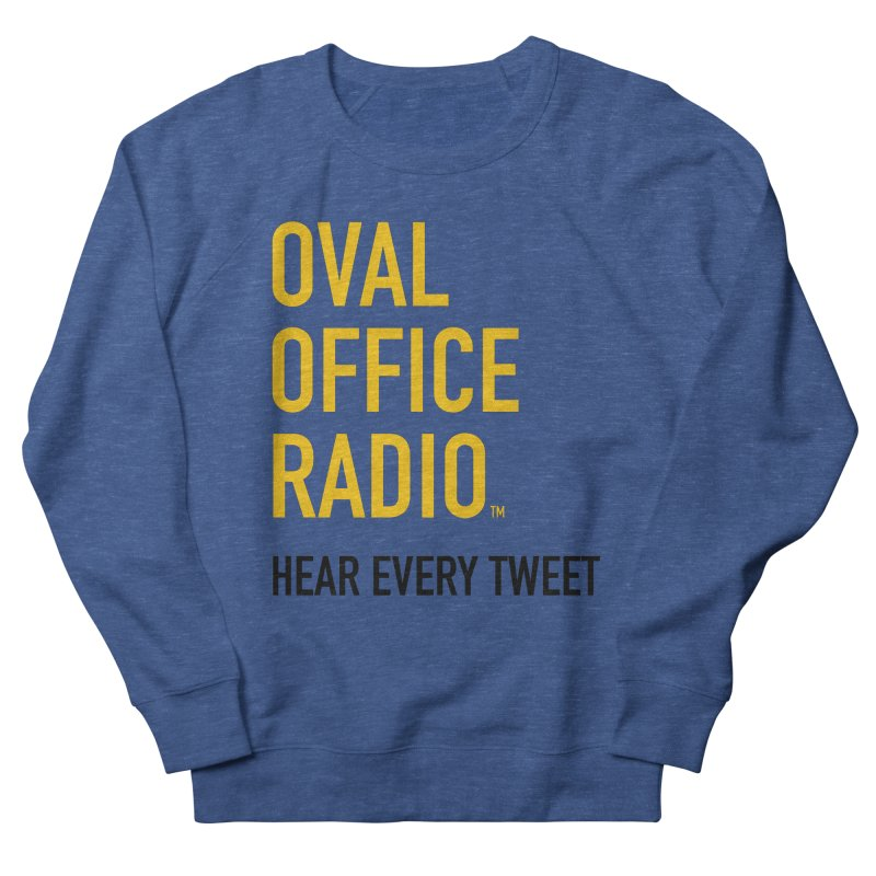 New design, minimalist Men's Sweatshirt by Oval Office Radio