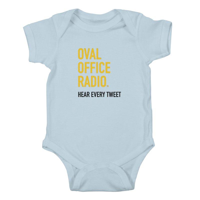 New design, minimalist Kids Baby Bodysuit by Oval Office Radio