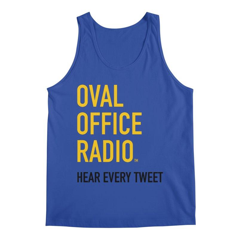 New design, minimalist Men's Tank by Oval Office Radio