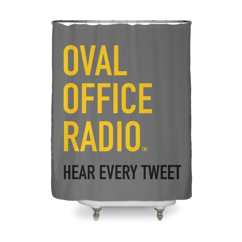 New design, minimalist Home Shower Curtain by Oval Office Radio