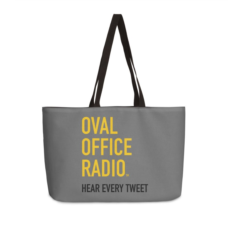 New design, minimalist Accessories Weekender Bag Bag by Oval Office Radio