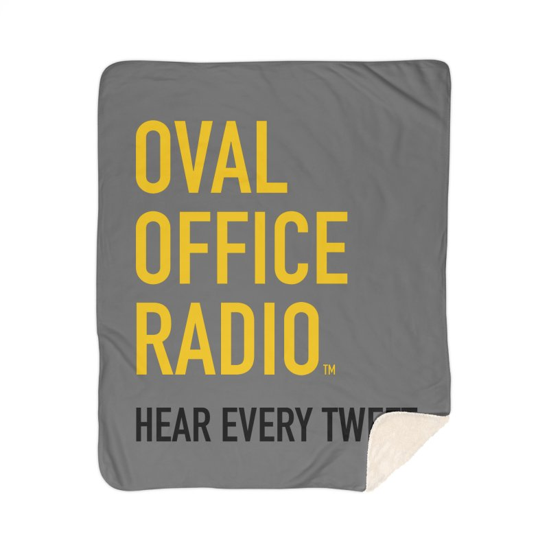 New design, minimalist Home Blanket by Oval Office Radio