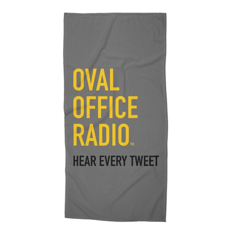 New design, minimalist Accessories Beach Towel by Oval Office Radio