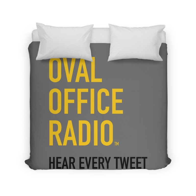 New design, minimalist Home Duvet by Oval Office Radio