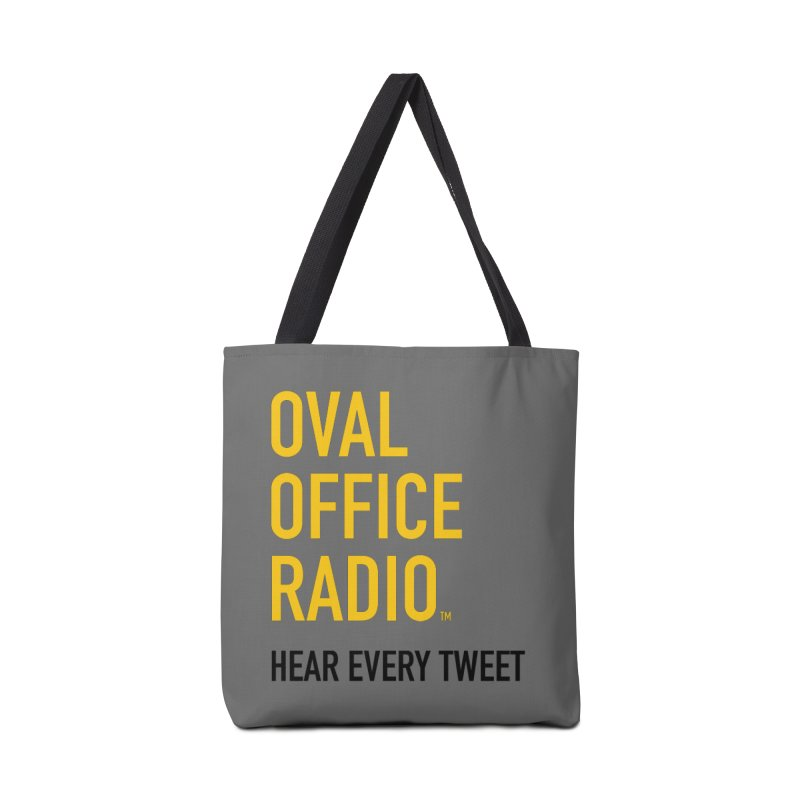 New design, minimalist Accessories Tote Bag Bag by Oval Office Radio