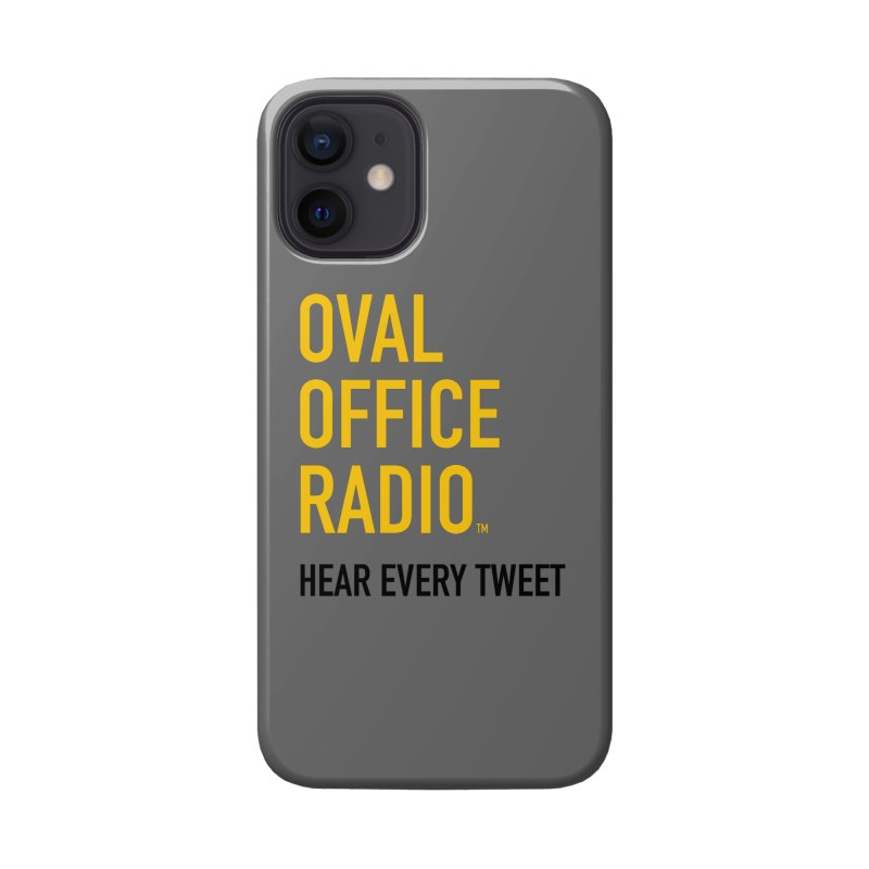 New design, minimalist Accessories Phone Case by Oval Office Radio
