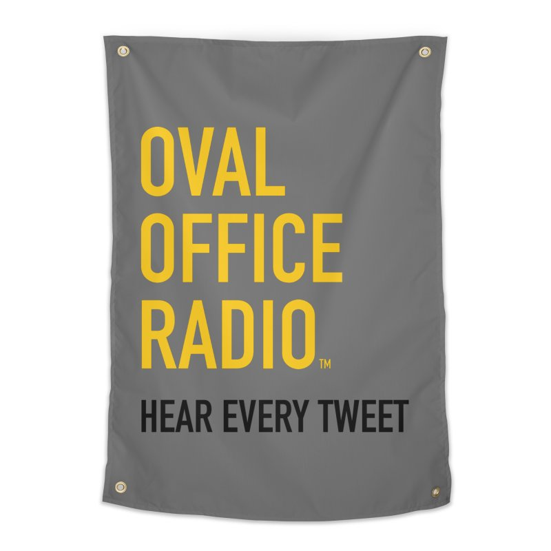 New design, minimalist Home Tapestry by Oval Office Radio