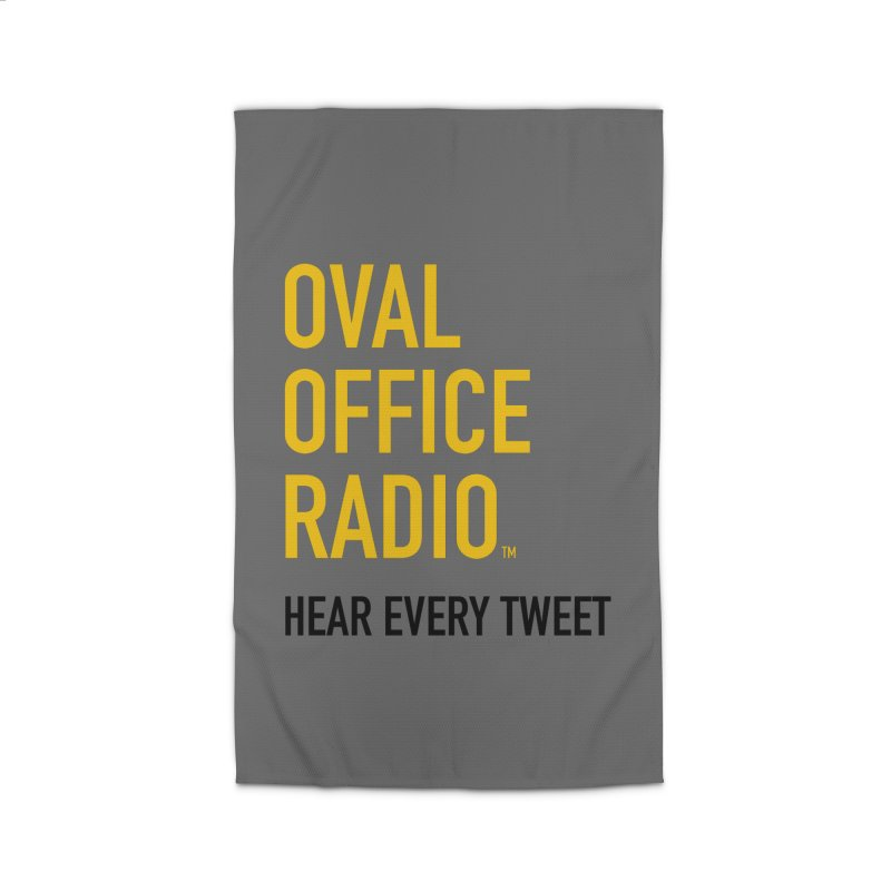 New design, minimalist Home Rug by Oval Office Radio