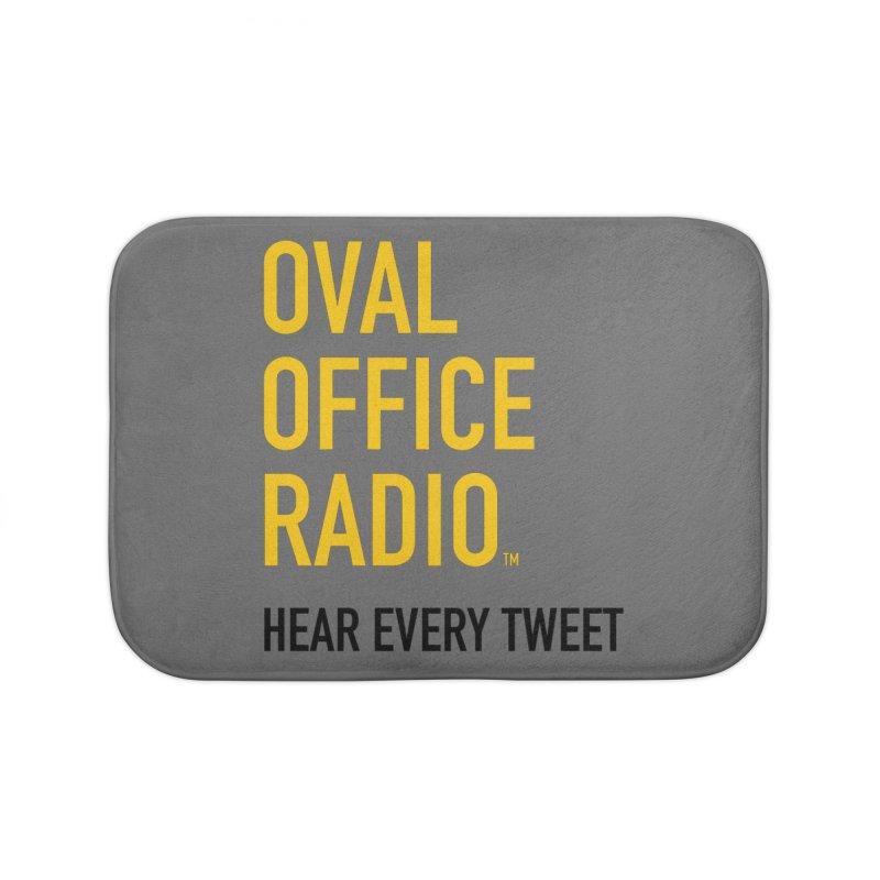 New design, minimalist Home Bath Mat by Oval Office Radio