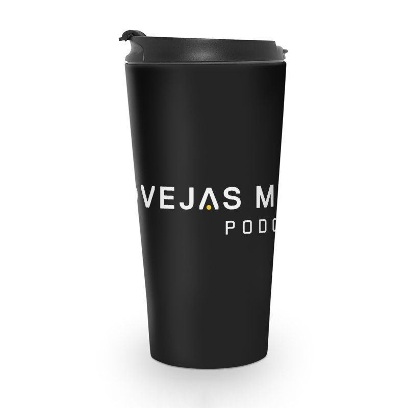 Ovejas Mecánicas Podcast Accessories Travel Mug by El Esquiladero
