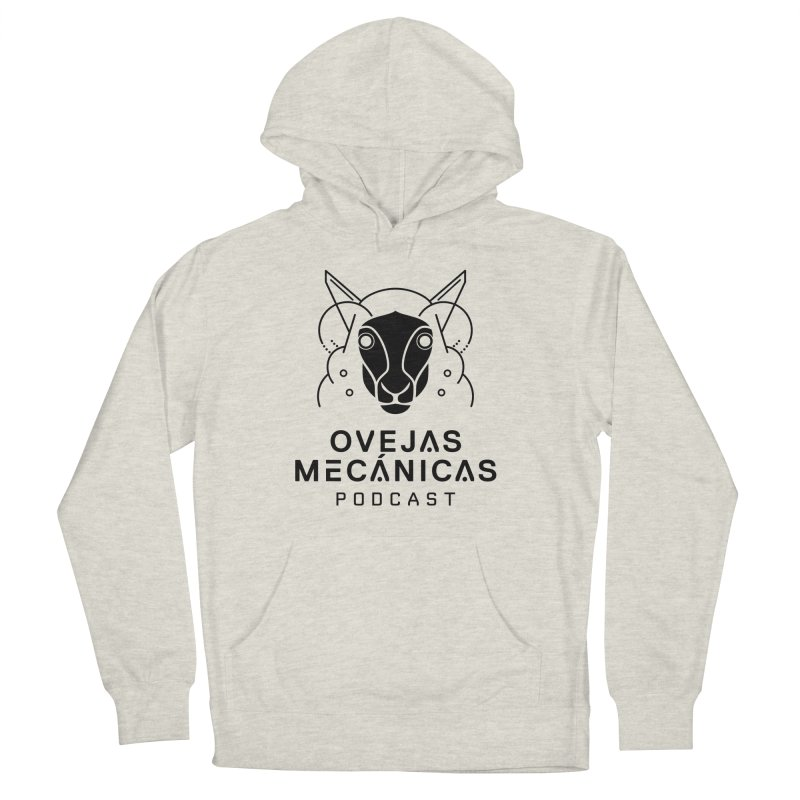 Oveja Blanco y Negro + Logotipo Women's French Terry Pullover Hoody by El Esquiladero
