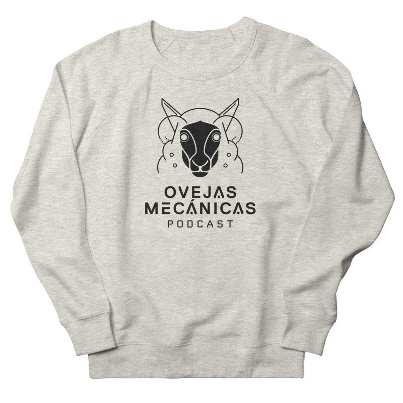 Oveja Blanco y Negro + Logotipo Men's French Terry Sweatshirt by El Esquiladero