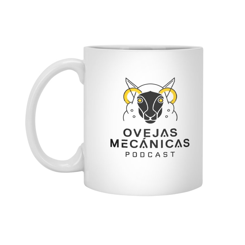 Oveja Mecánica + Logotipo Accessories Standard Mug by El Esquiladero