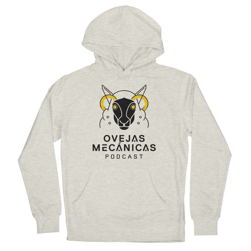 Oveja Mecánica + Logotipo Women's French Terry Pullover Hoody by El Esquiladero