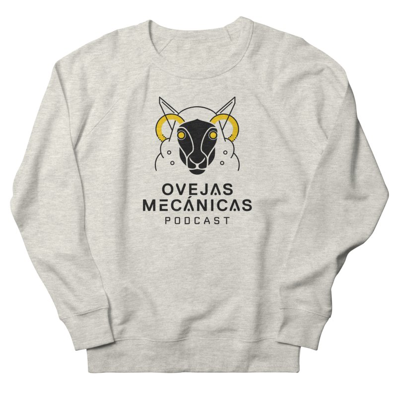 Oveja Mecánica + Logotipo Men's French Terry Sweatshirt by El Esquiladero