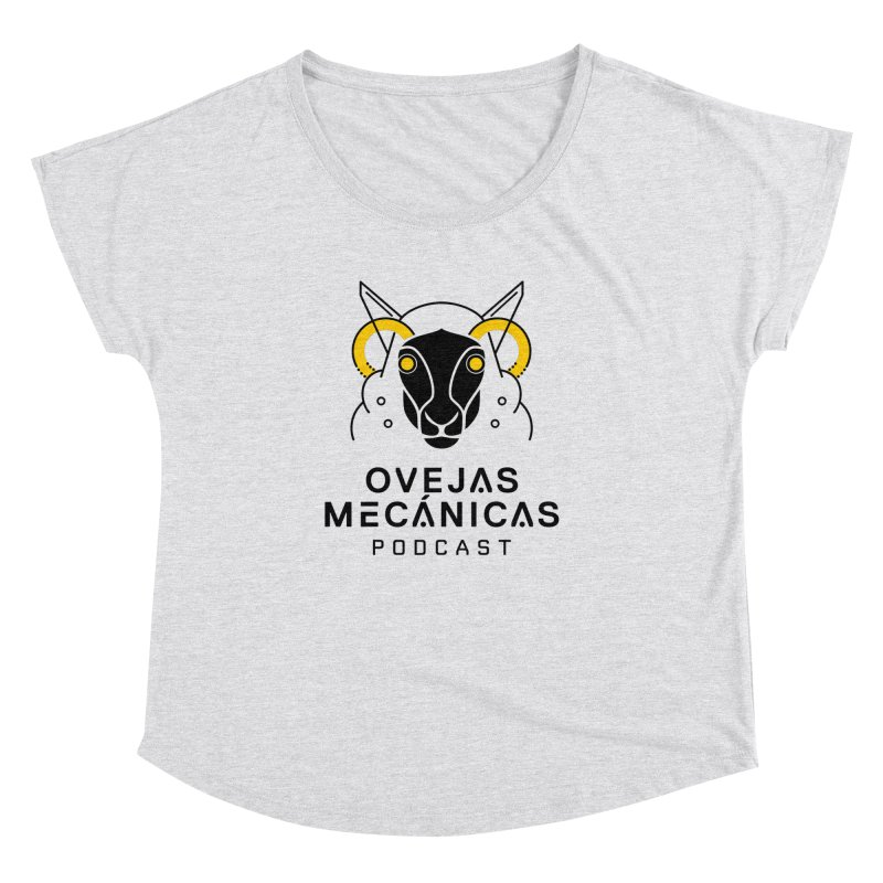 Oveja Mecánica + Logotipo Women's Dolman Scoop Neck by El Esquiladero