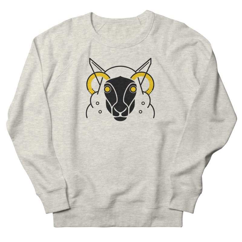 Oveja Mecánica Men's French Terry Sweatshirt by El Esquiladero