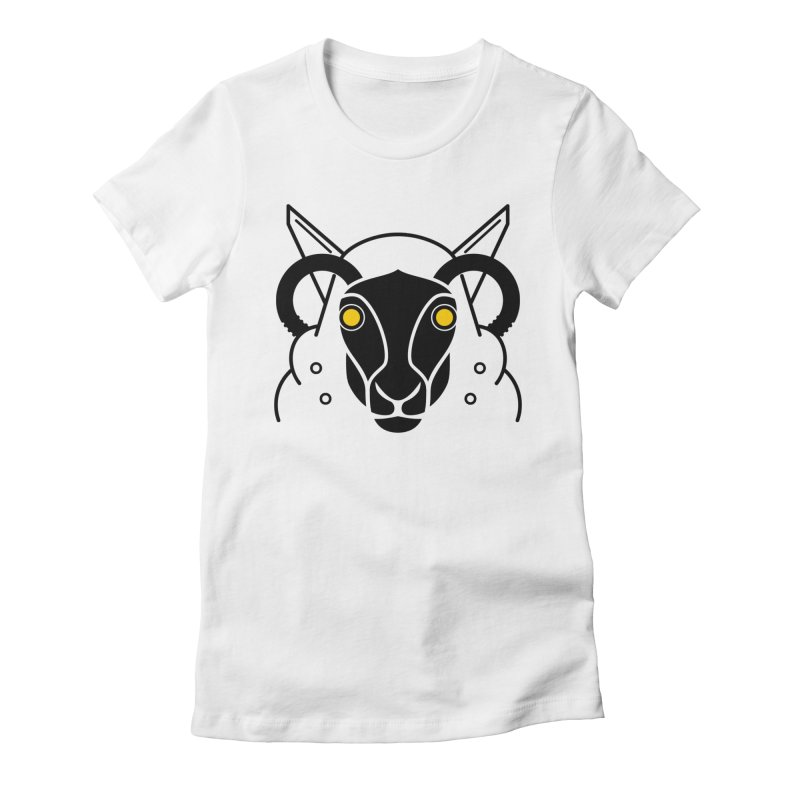 Oveja Activa Women's Fitted T-Shirt by El Esquiladero