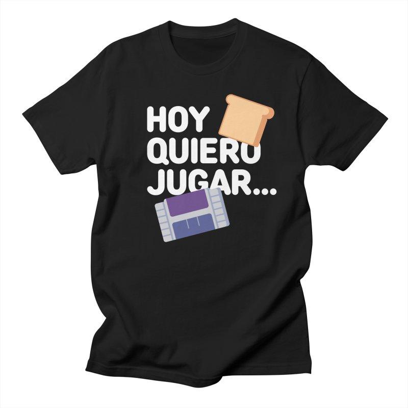 Hoy Quiero Jugar... Men's Regular T-Shirt by El Esquiladero