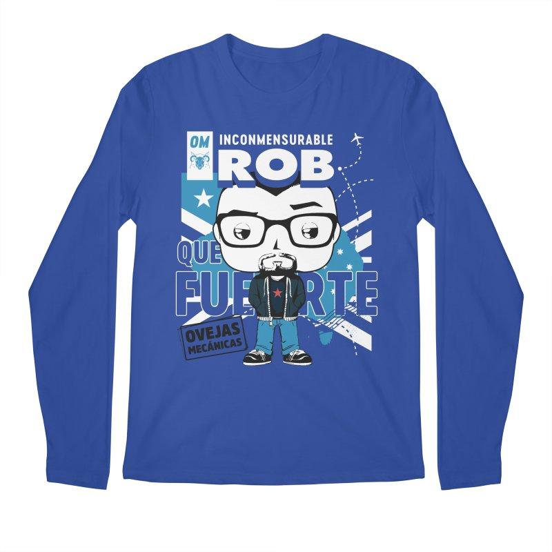 Rob Pop! Núñez Men's Regular Longsleeve T-Shirt by El Esquiladero