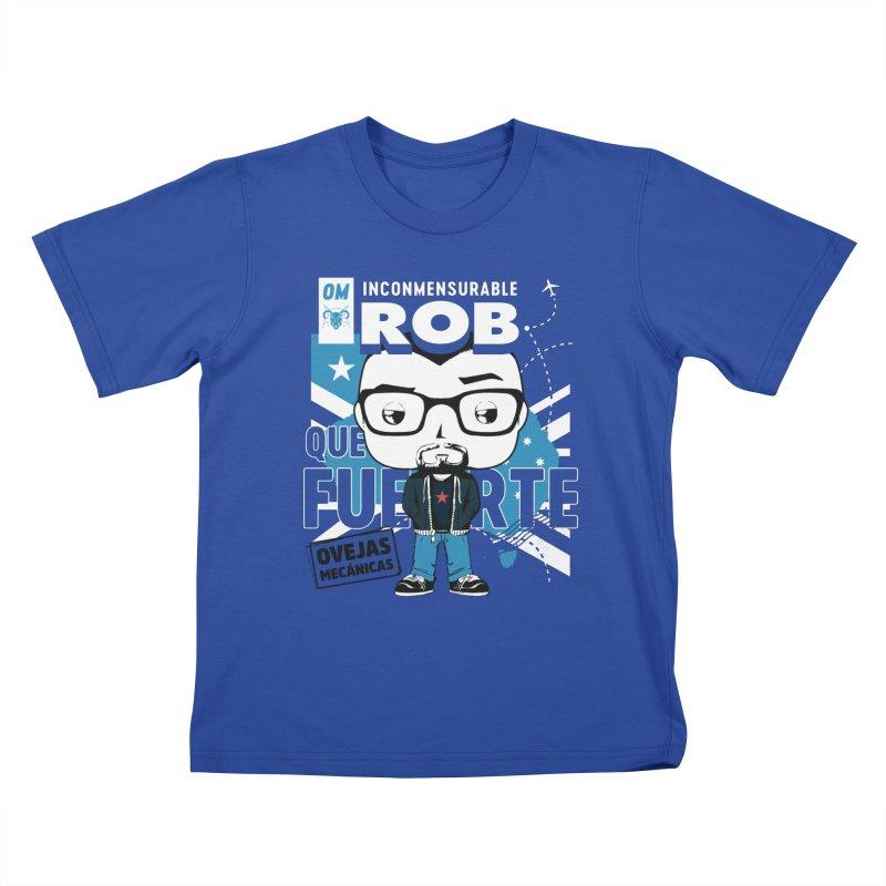 Rob Pop! Núñez Kids T-Shirt by El Esquiladero