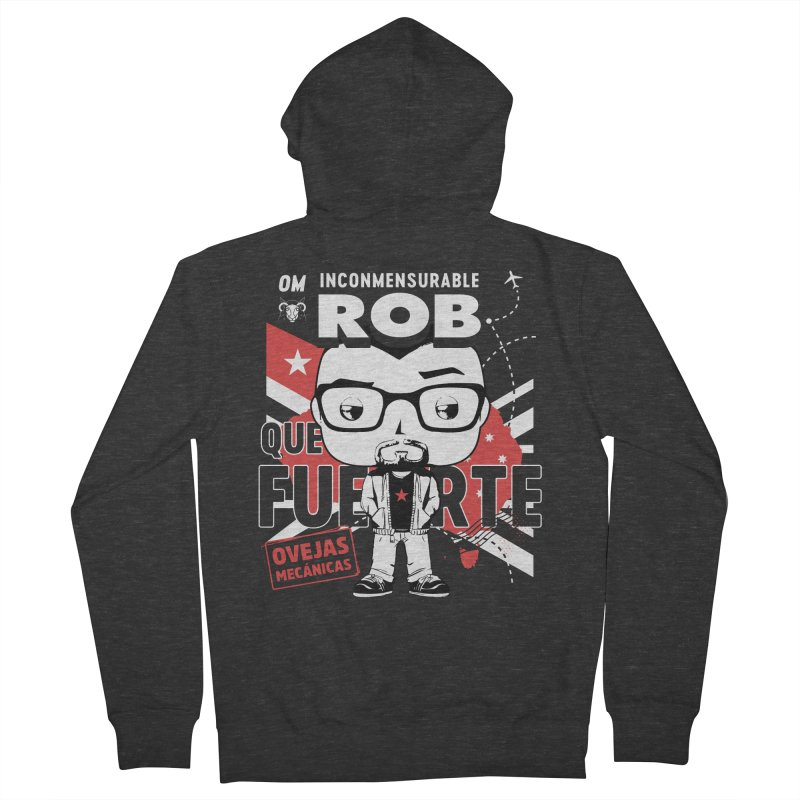 Rob Pop! Núñez V2 Men's French Terry Zip-Up Hoody by El Esquiladero