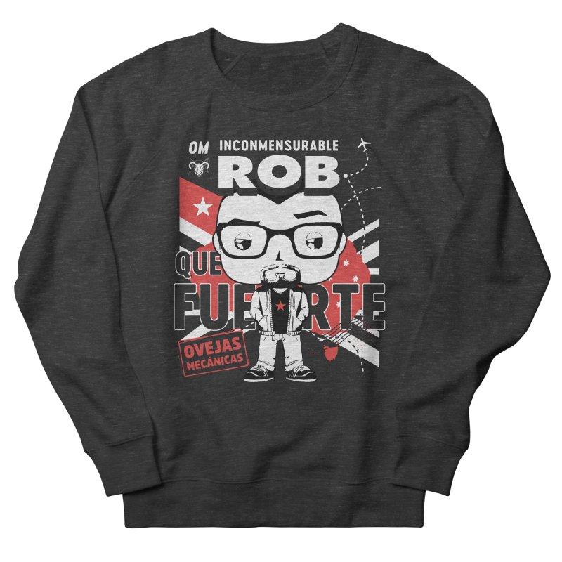 Rob Pop! Núñez V2 Men's French Terry Sweatshirt by El Esquiladero