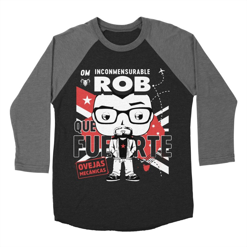 Rob Pop! Núñez V2 Men's Baseball Triblend Longsleeve T-Shirt by El Esquiladero