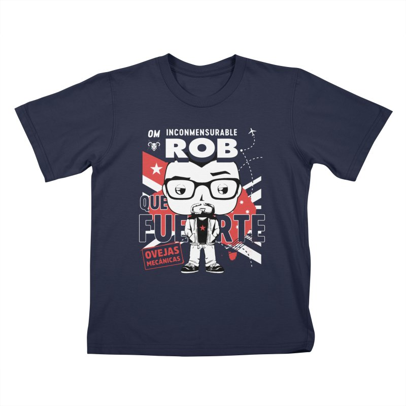 Rob Pop! Núñez V2 Kids T-Shirt by El Esquiladero