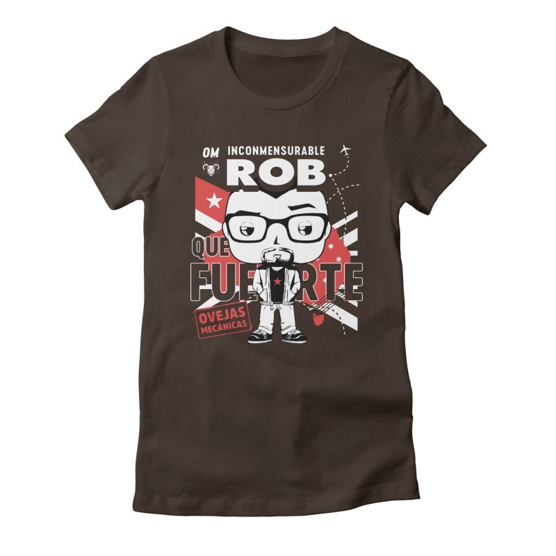 Rob Pop! Núñez V2 Women's Fitted T-Shirt by El Esquiladero