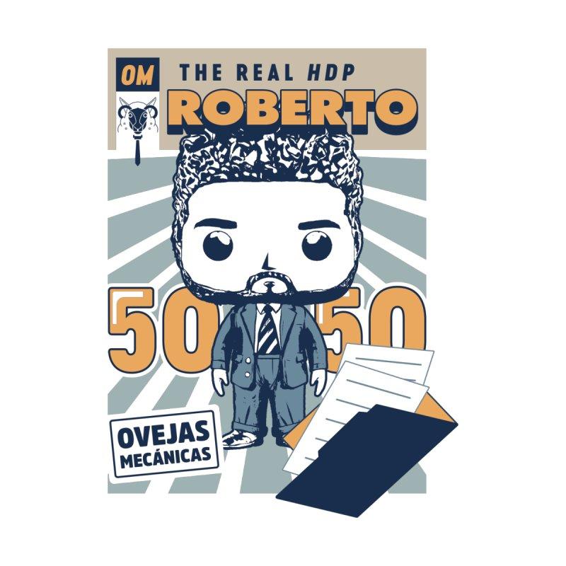 Roberto Pop! Miranda Men's Sweatshirt by El Esquiladero