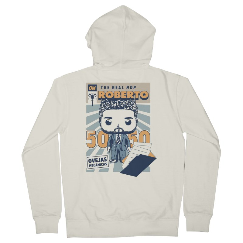 Roberto Pop! Miranda Men's Zip-Up Hoody by El Esquiladero