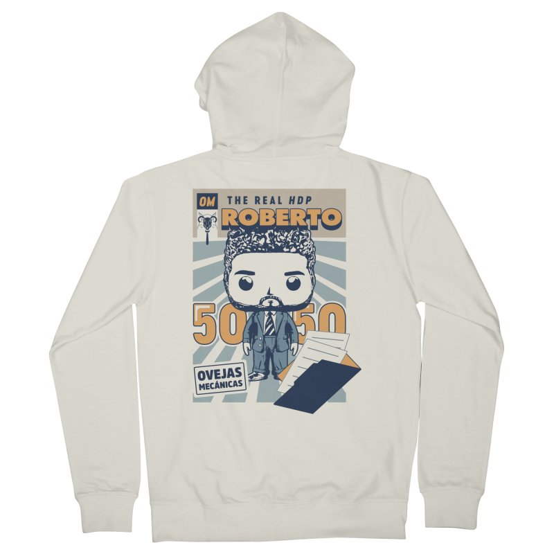 Roberto Pop! Miranda Men's French Terry Zip-Up Hoody by El Esquiladero
