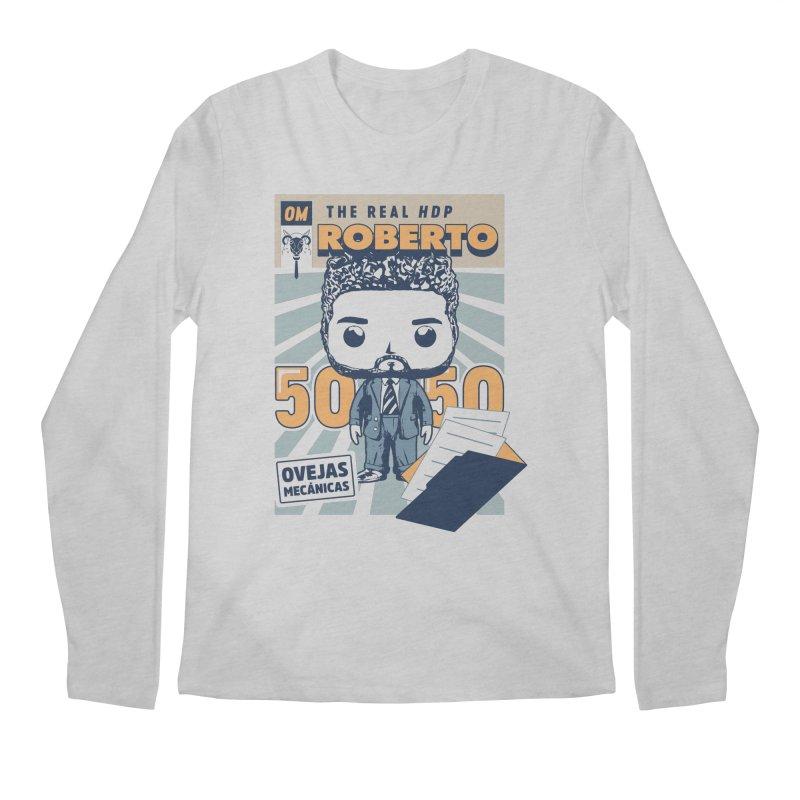 Roberto Pop! Miranda Men's Regular Longsleeve T-Shirt by El Esquiladero