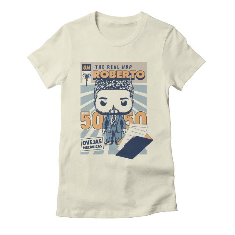 Roberto Pop! Miranda Women's Fitted T-Shirt by El Esquiladero