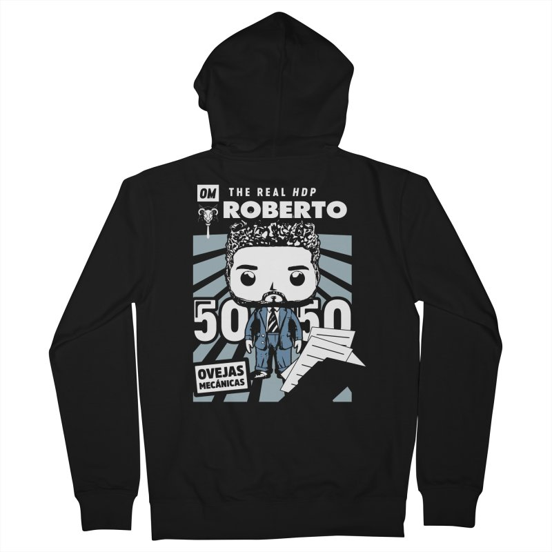Roberto Pop! Miranda V2 Men's Zip-Up Hoody by El Esquiladero